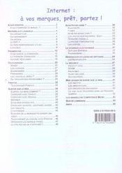 Competence Micro ; Internet : A Vos Marques, Prêt,Partez ! - 4ème de couverture - Format classique