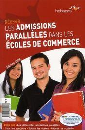 Reussir Les Admissions Paralleles Dans Les Ecoles De Commerce - Intérieur - Format classique