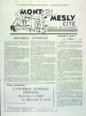 Mont Mesly Cite N°4 du 01/04/1964 - Couverture - Format classique