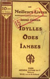 Idylles Suivi De Odes-Ïambes. Collection : Les Meilleurs Livres N° 97. - Couverture - Format classique