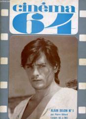 Cinema 64 N° 84 - Le Desin De Jean Effel - Delon N°1 - Le Dossier Du Mois: Murvau - Couverture - Format classique