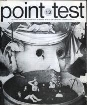 Clefs Des Connaissances - Point Test - N°13 - Couverture - Format classique