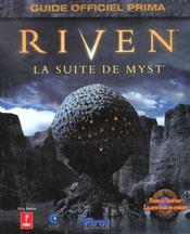 Riven. La Suite De Myst - Intérieur - Format classique