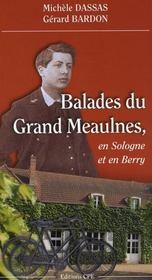 Balades au pays du Grand Meaulnes en Sologne et en Berry - Intérieur - Format classique