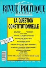 Rpp 959 ; Mai-Juin 1992 - Couverture - Format classique