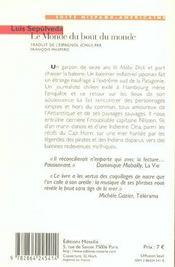 Le Monde Du Bout Du Monde - 4ème de couverture - Format classique