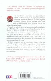 Zodiaque - 4ème de couverture - Format classique