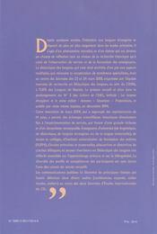 Apprentissage précoce d'une langue étrangère et bilinguisme - 4ème de couverture - Format classique