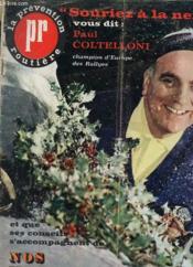 Revue La Prevention Routiere - N°25 - Decembre 1962/janvier 1963 - Souriez A La Neige - Conseils - Couverture - Format classique