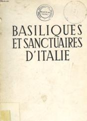 Basiliques Et Sanctuaires D'Italie - Couverture - Format classique