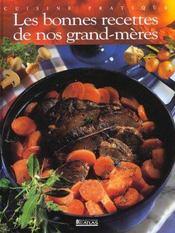 Les bonnes recettes de nos grand-mères - Intérieur - Format classique