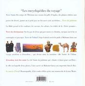 Terre Sainte Album - 4ème de couverture - Format classique