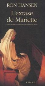 L'extase de mariette - Couverture - Format classique
