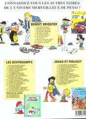 Benoît Brisefer t.7 ; le fétiche - 4ème de couverture - Format classique