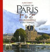 Carnet De Paris 1e Et 2e Arrondissements - Couverture - Format classique