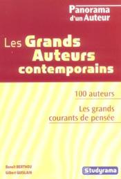 Les Grands Auteurs Contemporains - Couverture - Format classique