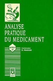 Analyse Prat Medicament - Couverture - Format classique