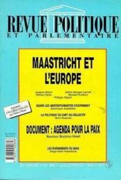 Maastricht Et L'Europe - Couverture - Format classique