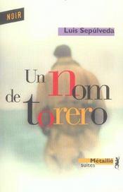 Un Nom De Torero - Intérieur - Format classique