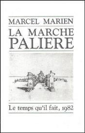 La marche palière - Couverture - Format classique
