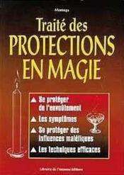 Traite Des Protections En Magie - Couverture - Format classique