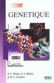 L'Essentiel En Genetique - Intérieur - Format classique