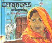 Carnets De Voyage. Errances Indiennes - Couverture - Format classique
