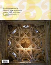 Architecture maure - 4ème de couverture - Format classique