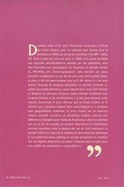 Interculturalité, intertextualité ; les livrets d'opéra 1915-1930 - 4ème de couverture - Format classique