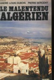 Le Malentendu Algerien. - Couverture - Format classique