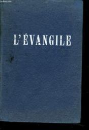 L'Evangile De Jessus-Christ - Couverture - Format classique