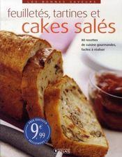 Feuilletés, tartines et cakes salés - Intérieur - Format classique