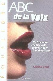 Abc de la voix - Intérieur - Format classique