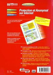 Guidexpress protection sur le web - 4ème de couverture - Format classique