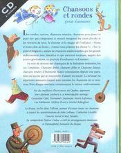 Chansons Et Rondes Pour S'Amuser - 4ème de couverture - Format classique