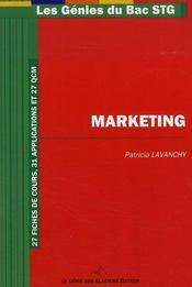 Marketing - Intérieur - Format classique