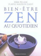 Le bien-être zen au quotidien - Intérieur - Format classique