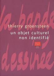 Un objet culturel non identifié - Intérieur - Format classique