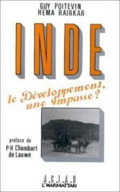 Inde ; le développement, une impasse ? - Couverture - Format classique