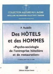 Des hotels et des hommes - Couverture - Format classique