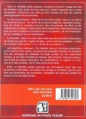 Les Successions ; Guide Pratique Juridique Et Fiscal - 4ème de couverture - Format classique