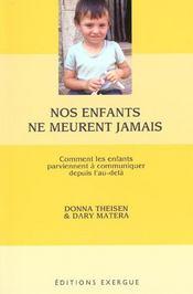 Enfants Ne Meurent Jamais (Nos) - Intérieur - Format classique