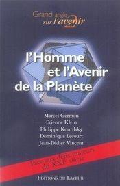 L'homme et l'avenir de la planète - Intérieur - Format classique