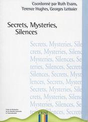 Secrets, mysteries, silences - Intérieur - Format classique