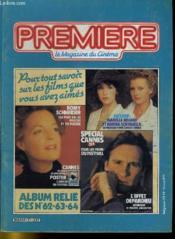 Premiere Album N°21 - 3 Numeros Introuvables - Album Relie Des N°62 - 63 - 64 - Couverture - Format classique