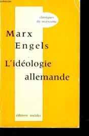 L'Ideologie Allemande - Premiere Partie - Feuerbach - Couverture - Format classique