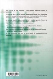 Un bon kilo de qcm ; culture générale, histoire, géographie, économie, droit - 4ème de couverture - Format classique