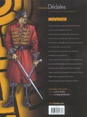 Novikov T.1 ; Le Fou De Dieu - 4ème de couverture - Format classique