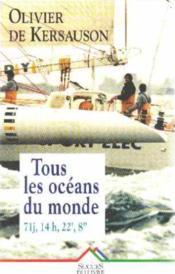 Tous Les Oceans Du Monde - Couverture - Format classique