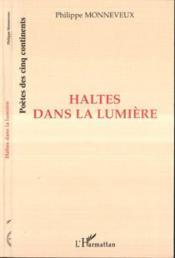 Haltes Dans La Lumiere - Couverture - Format classique